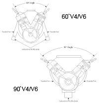 History of Johnson Evinrude V4 OutboardsV4 Engine Diagram